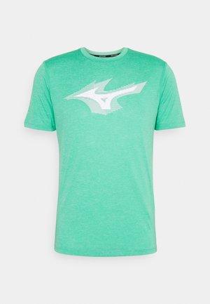 CORE TEE - T-shirt imprimé - mint leaf