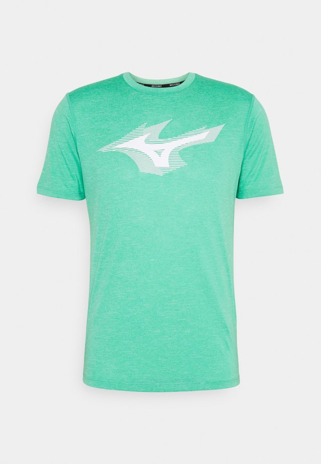 CORE TEE - T-shirt med print - mint leaf