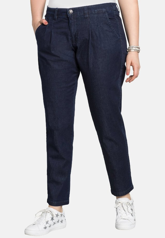 Chino - dark blue denim