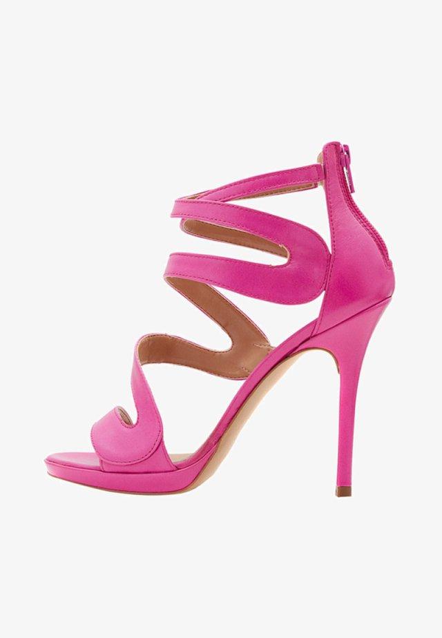 MARISOL - Sandalen met hoge hak - rose