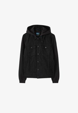 Džínová bunda - metallic black