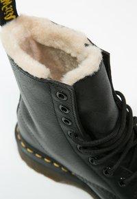 Dr. Martens - 1460 SERENA - Lace-up ankle boots - black - 6