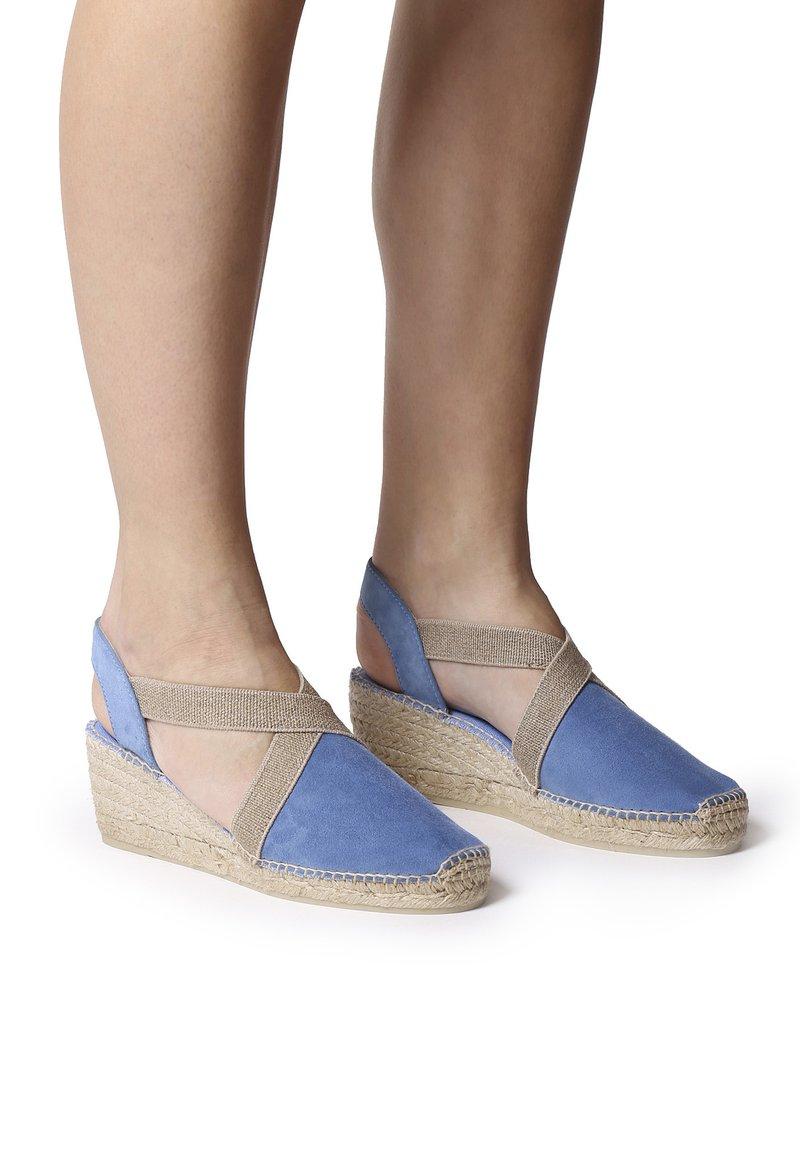 Toni Pons - TONA - Wedge sandals - denim
