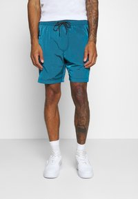 American Eagle - IRIDESCENT ALL DAY  - Tracksuit bottoms - bright blue - 0