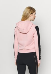 Pink Soda - YARROW HOODIE - Jersey con capucha - pink black - 2