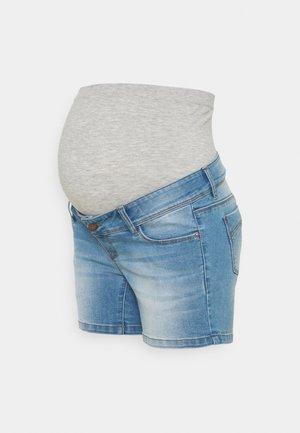 MLPASO HIGH BACK - Denim shorts - light blue denim