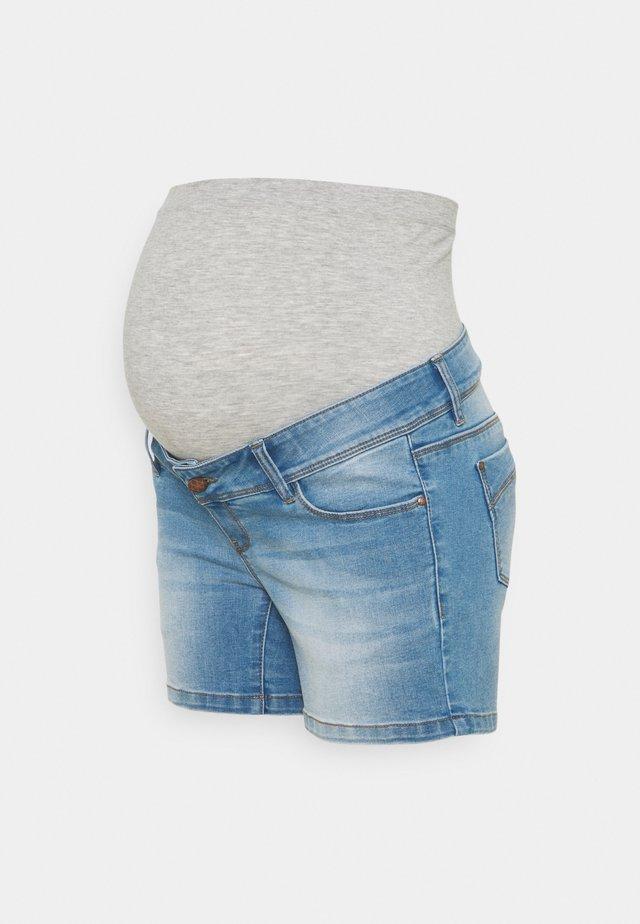 MLPASO HIGH BACK - Jeansshort - light blue denim