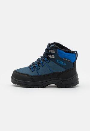 KIDS ANNUUK WP UNISEX - Winter boots - blue ink
