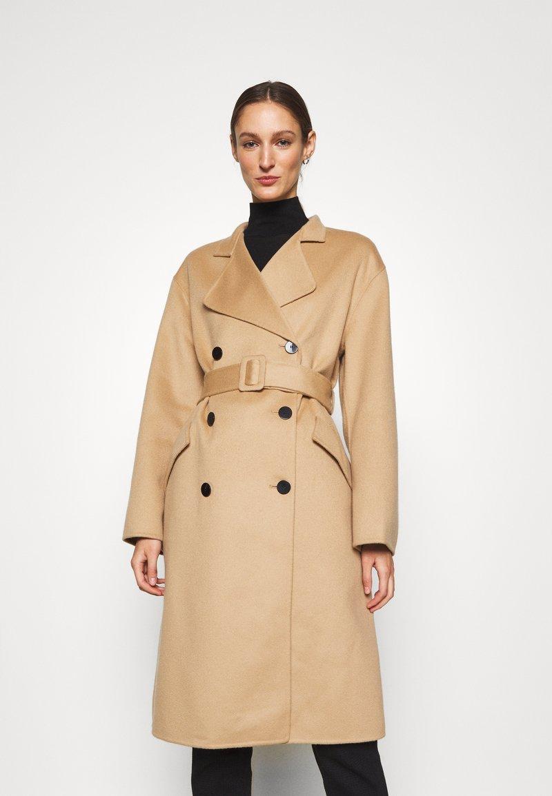 Theory - BELT COAT LUXE - Classic coat - palomino