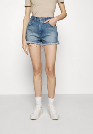 FESTIVAL  - Denim shorts - tidal waves