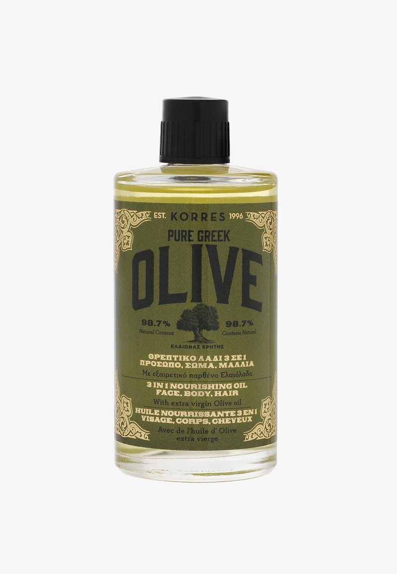 Korres - OLIVE NÄHRENDES 3IN1 ÖL 100ML - Body oil - -