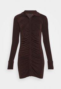 Gina Tricot - DOLLY DRESS - Jerseyklänning - coffee bean - 5