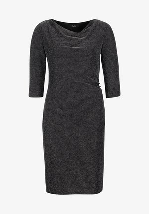 Cocktail dress / Party dress - black/silver