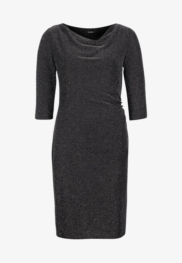 Cocktail dress / Party dress - black/silver