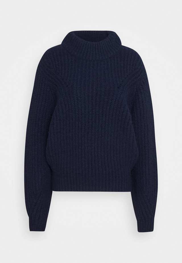 BULKY CREW - Pullover - navy