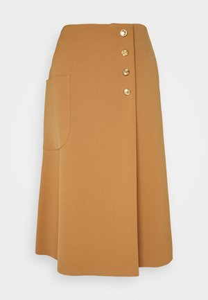 HETTY SKIRT - Gonna a tubino - dark beige
