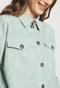 Moves - SAVISA - Button-down blouse - mint green - 3