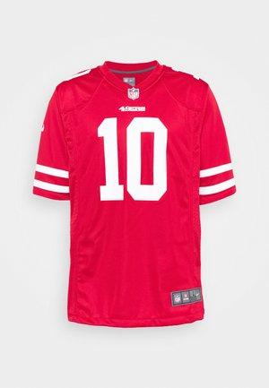 NFL SAN FRANCISCO GAME TEAM - Club wear - gym red