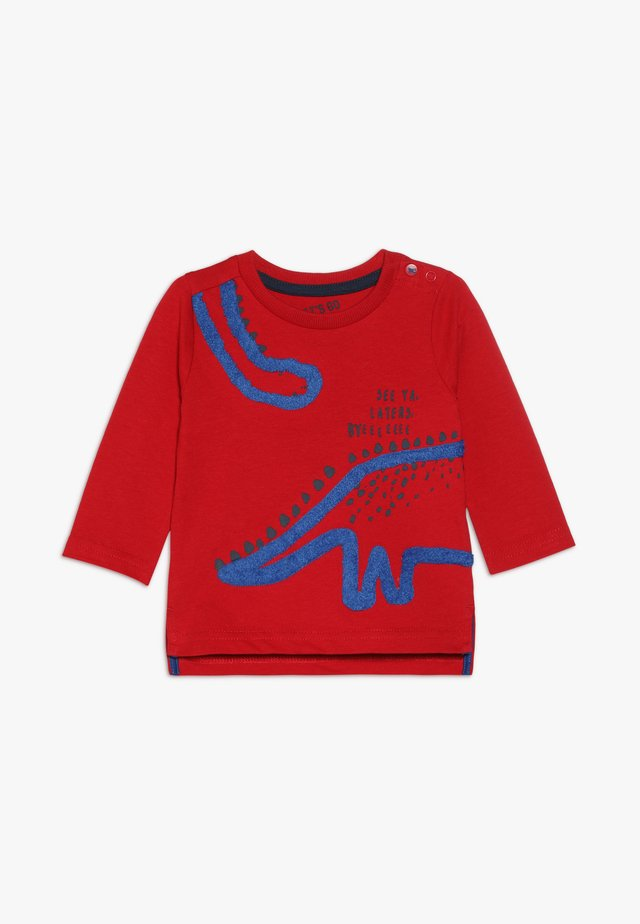 BABY DINOSAUR TEE  - T-shirt à manches longues - red