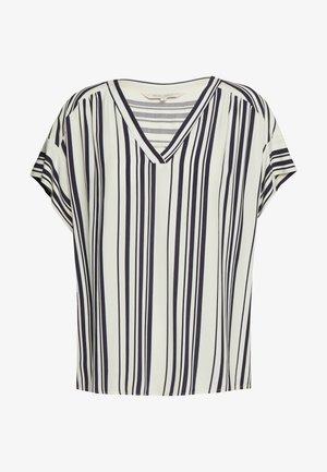 DRINE - Blouse - bold stripe, navy