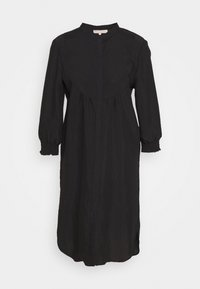 SRNELLY - Shirt dress - black