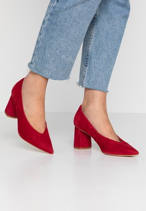 Classic heels - red
