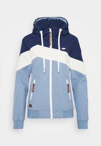 Ragwear - NUGGIE BLOCK - Lehká bunda - dusty blue - 3