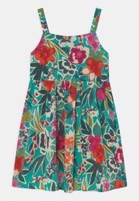 Chi Chi Girls - GIRLS SLEEVELES FLORAL PRINT DAY DRESS - Denní šaty - multi-coloured - 0