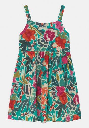 GIRLS SLEEVELES FLORAL PRINT DAY DRESS - Day dress - multi-coloured