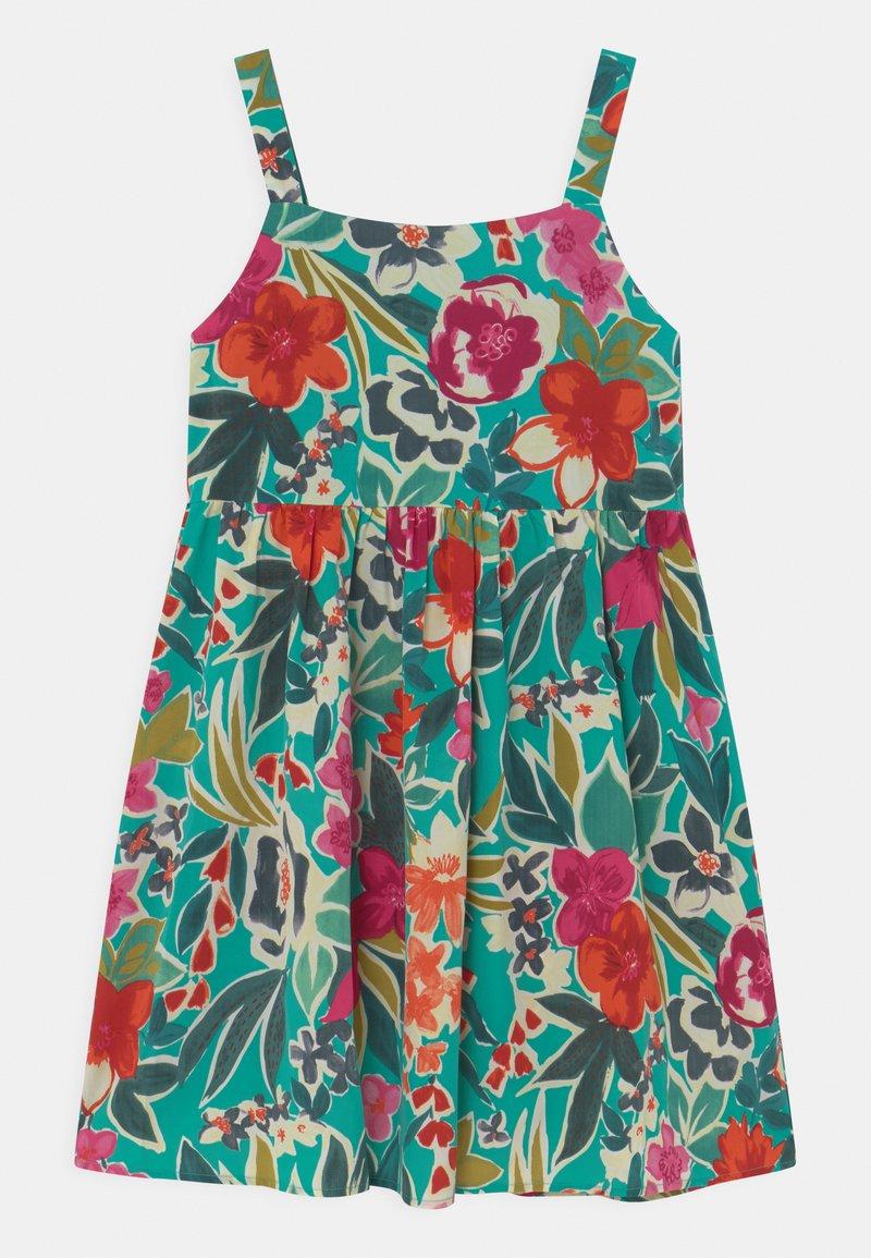 Chi Chi Girls - GIRLS SLEEVELES FLORAL PRINT DAY DRESS - Denní šaty - multi-coloured