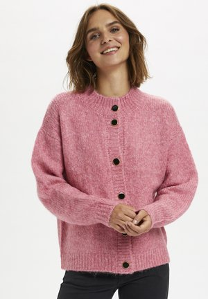 KABERIL  - Cardigan - bubblegum melange