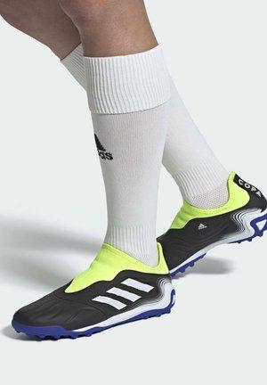Botas de fútbol multitacos - black