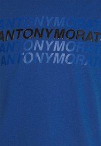 Antony Morato - SLIM FIT WITH LOGO - Camiseta estampada - cobalto scuro - 5