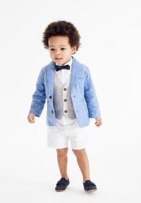 Next - SET - Suit - light blue white beige - 0