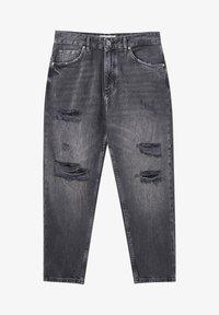 PULL&BEAR - Relaxed fit -farkut - mottled dark grey - 6