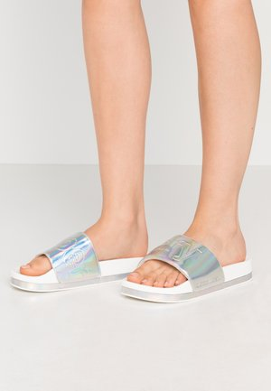 ARIZONA FLATFORM SLIDE - Mules - white