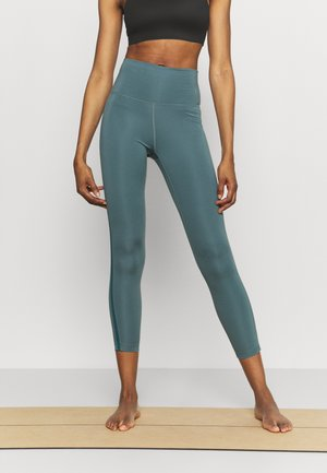 NOVELTY 7/8 - Legginsy - dark teal green