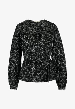 BELLA - Blouse - black/white