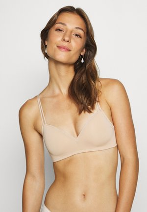 REAL HAPPY WIRELESS BASIC BODY - T-skjorte-BH - natural nude