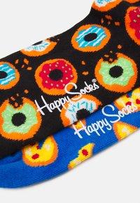 Happy Socks - DONUT SOCK PIZZA SOCK 2 PACK - Socks - multi-coloured - 1