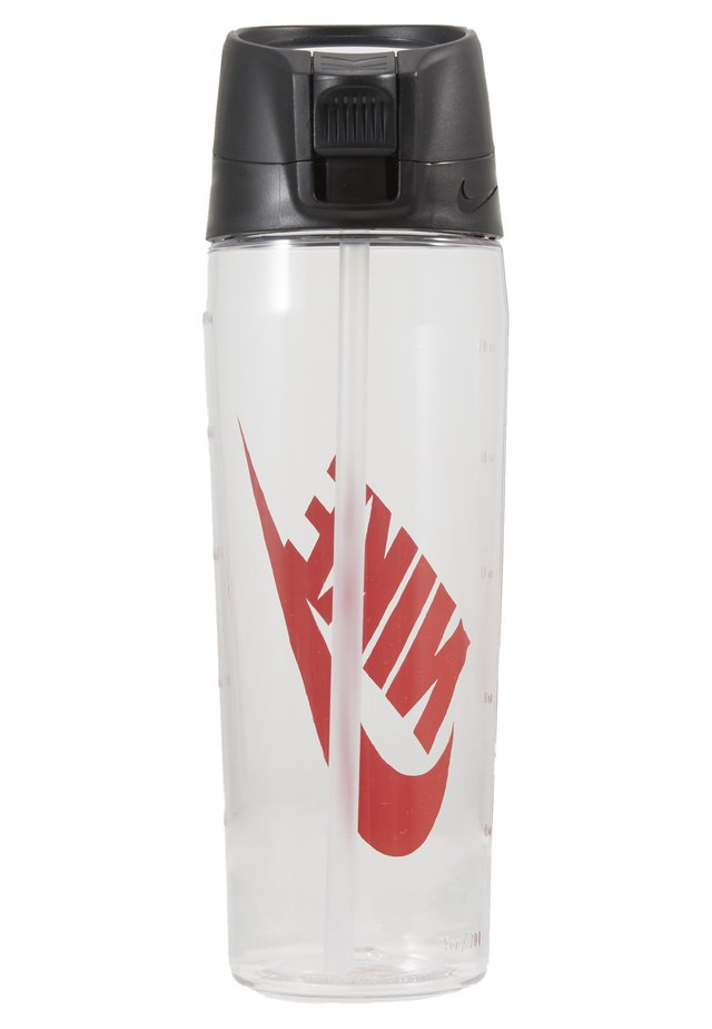 HYPERCHARGE STRAW BOTTLE 24 OZ/709ML - Trinkflasche - clear/anthracite/university red