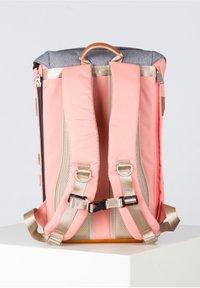 Doughnut - Rucksack - light pink x pumpkin - 3