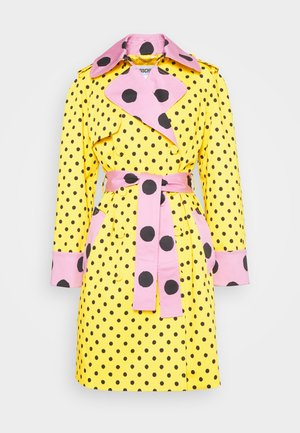 LONG JACKET - Trenssi - fantasy yellow