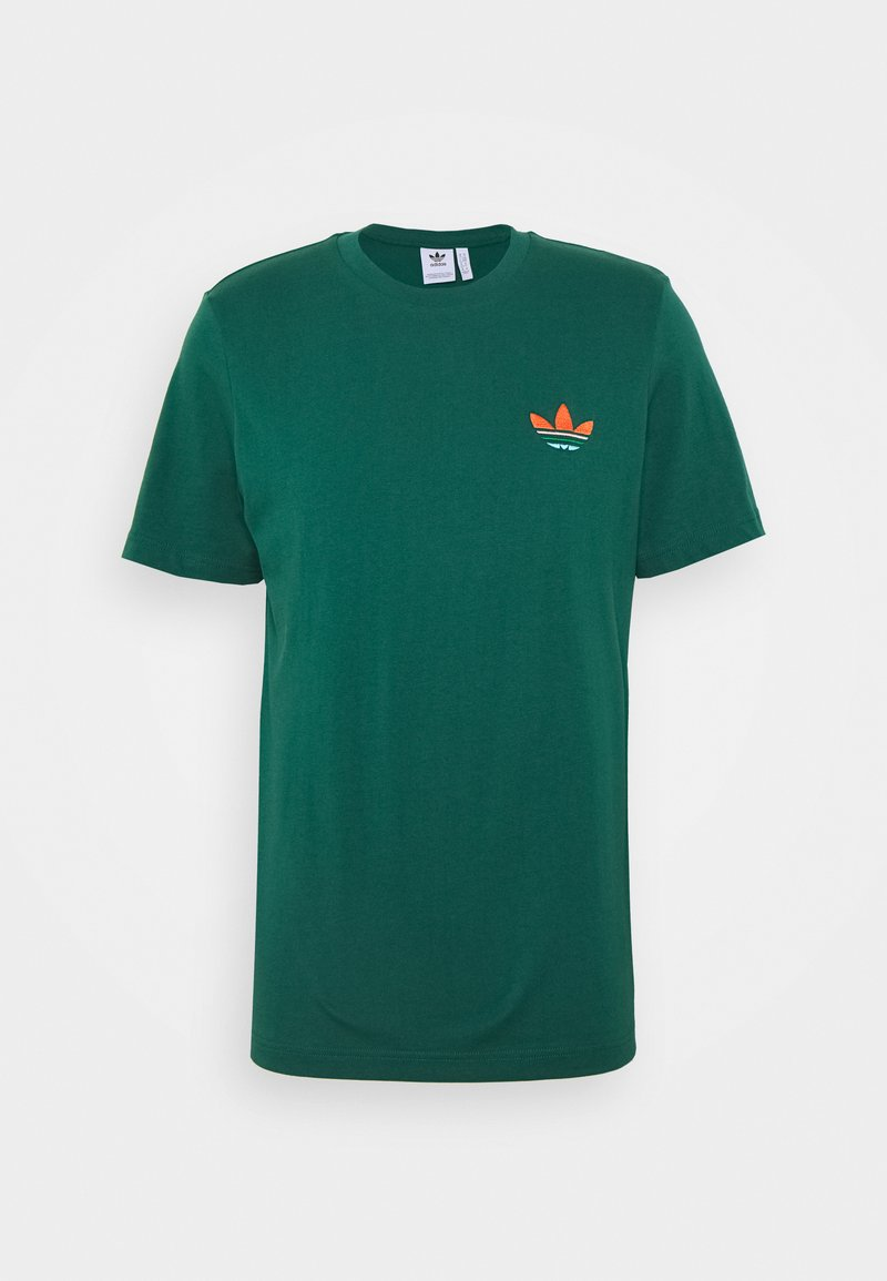 adidas Originals - MULTI TEE - T-shirts print - collegiate green