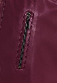 comma - A-line skirt - berry - 2