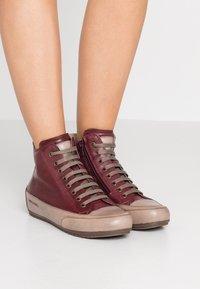 Candice Cooper - PLUS - Sneakers high - tamponato porpora/tamponato stone - 0