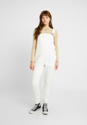 LINCOLN OVERALL - Dungarees - ecru