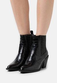 Glamorous Wide Fit - Kotníková obuv - black - 0