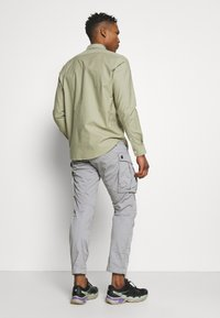 G-Star - ROVIC ZIP TAPERED - Cargobroek - steel grey - 2