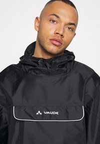 Vaude - VALDIPINO PONCHO - Waterproof jacket - black - 4